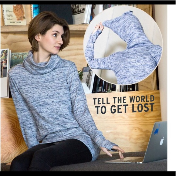 eee975791d7c Betabrand Sweaters | Leave Me Alone Sweater Seen On Tv | Poshmark